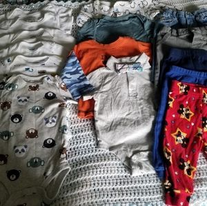Baby boys clothing lot size 3-6 months